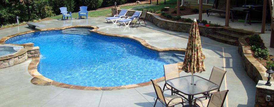 Coweta Pool And Fireplace Part - 40: Slide7 Slide6 Slide5 Slide4 Slide3 Slide2 Slide1